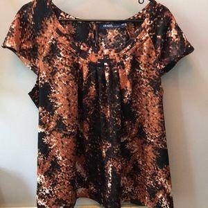 Eloquii short sleeve blouse